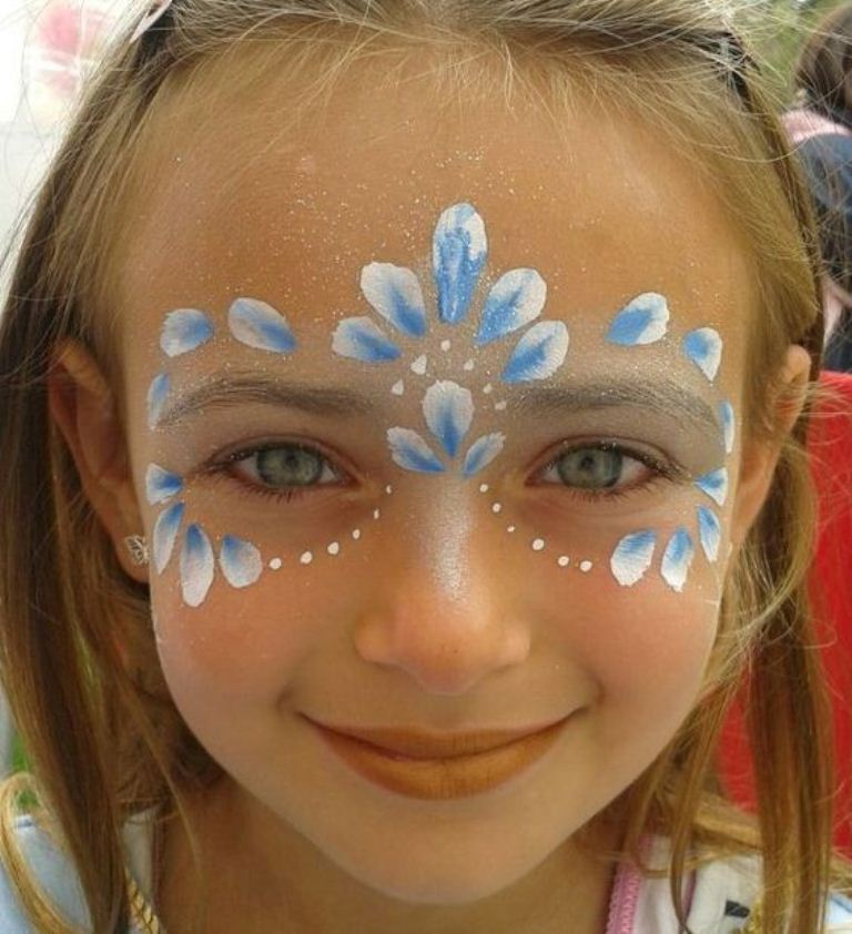 easy face painting ideas - 603×661