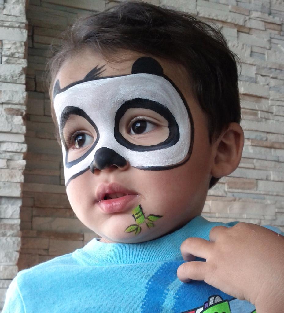 дитині фото як розмалювати лице