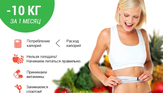 Как быстро похудеть что нужно есть