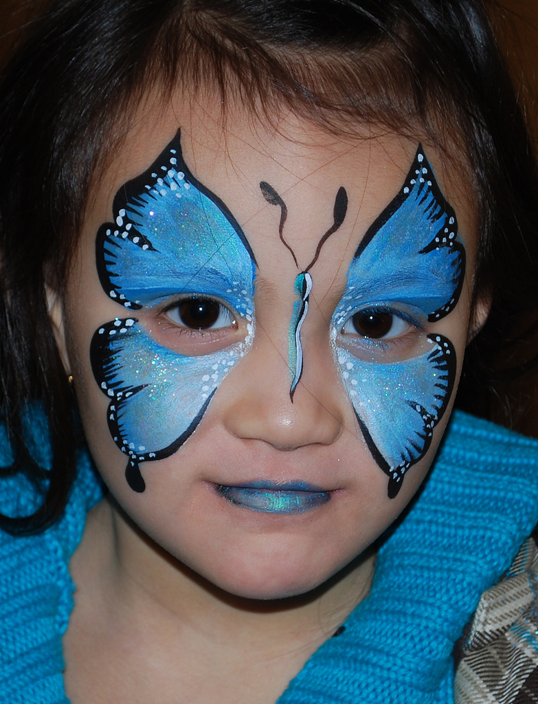 easy face painting designs - 520×681