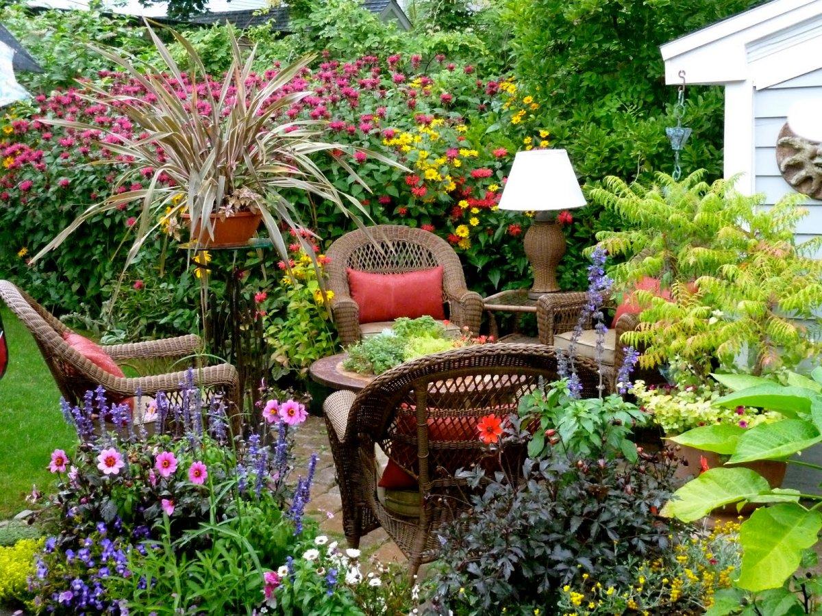 Мой прекрасный сад своими руками ландшафтные хитрости - 20 фотографий 61